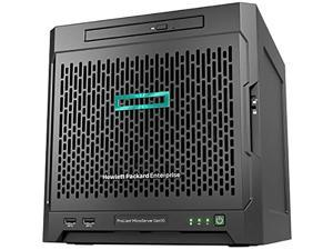 HP MicroServer Gen10 Tower Server for Business, AMD Opteron X3421 up to 3.4GHz, 32GB RAM, 8TB Storage, RAID, Windows Sever 2016, 3 Years Warranty