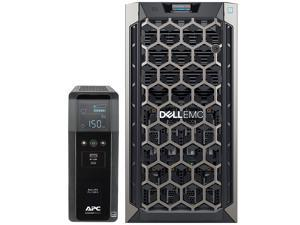 Dell PowerEdge T340 Tower Server for Dental Practices Including, Windows 2016 STD OS, APC UPS for Power Backup, Intel Xeon E-2124 4-Core 3.3GHz 8MB, 32GB DDR4 RAM, 8TB HDD, RAID, 3 Years Warranty
