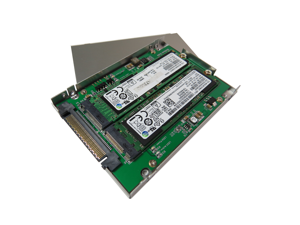 "Innocard BU287F U.2 (SFF-8639) to M.2 NVMe SSD & SATA Express to M.2 (SATA interface) Adapter with 2.5"" Housing"