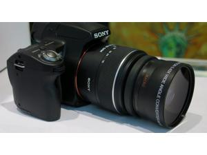 PRO WIDE ANGLE FISHEYE + MACRO FOR Sony Cyber-shot Digital Camera HX300 A200 HD4