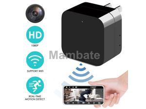 1080P HD Hidden SPY Cam Wall Charger WiFi Remote View Recorder Motion Camera