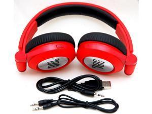 c552e55bd1b JBL E40BT RED Synchros Bluetooth Folding Stereo Headphones ...