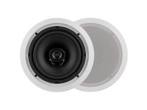 "Dayton Audio CS820C 8"" 2-Way Ceiling Speaker Pair"