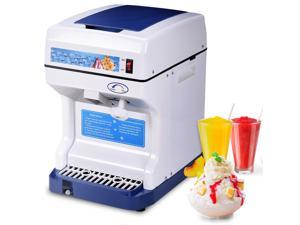 Costway Electric Ice Shaver Machine Tabletop Shaved Ice Crusher Ice Snow Cone Maker
