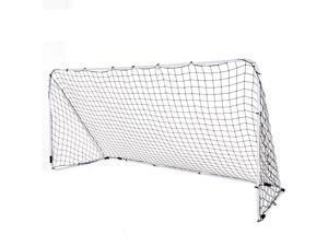 246f02a72 12' x 6' Steel Football Soccer Goal Net Gate Backyard Outdoor Sport  Weatherproof
