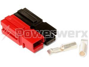 Powerwerx WP30-10 30 Amp Permanently Bonded Red/Black Anderson Powerpole Connectors - 10 Sets