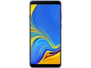 Samsung Galaxy A9 (2018) A920F 128GB Unlocked GSM Dual-SIM Phone w/ Quad (24MP/8MP/10MP/5MP) Rear Camera - Lemonade Blue