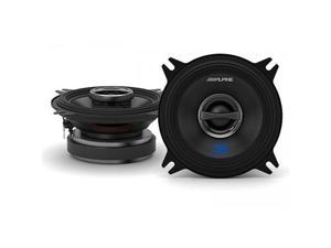 "Alpine S-S40 S-Series 4"" 140 Watts Peak Power Coaxial 2-Way Car Speakers"