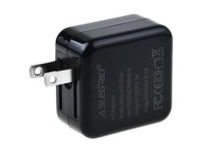 ABLEGRID 5V 1A/2.1A USB Power Charger For KOCASO M776 Anroid 4.1 capacitive 7 Tablet
