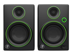 Mackie CR3 Pair Powered Multimedia Monitor Speakers Studio Design