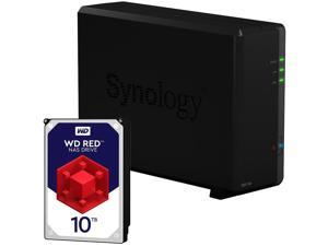 Synology DS118 1-Bay DiskStation Fully Assembled and Tested with a 10TB Western Digital NAS Drive By CustomTechSales
