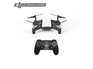 Tello Quadcopter Drone with HD camera and VR,powered by DJI technology and Intel processor, STEM Toy for Kids and Beginners, Remote Controller Included