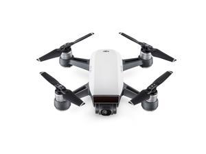 DJI Spark Portable Mini Drone Quadcopter Fly More Combo, Alpine White (DJI Certified Refurbish)