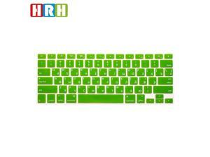 "HRH Russian Language Silicone Keyboard Cover Skin for MacBook Air 13"" MacBook Pro with or"