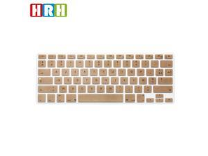 HRH French Language Keyboard Cover Protector for MacBook Air 13 and for MacBook Pro 13""