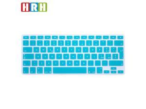 "HRH Italian Keyboard Cover Protector for MacBook Air 13 and for MacBook Pro 13"" 15"