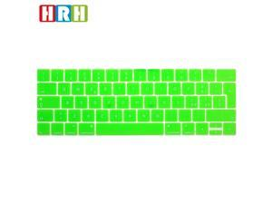 HRH Italian Language Silicone Keyboard Cover Protector Skin for Newest 2017 / 2016 with Multi Touch