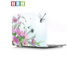 HRH Wildflowers Print Plastic Laptop Body Shell PC Protective Hard Case for Macbook Pro 13 inch