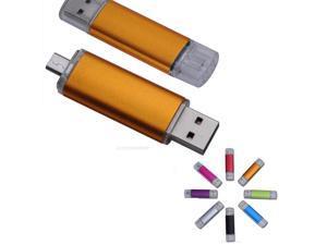 9de6d747497f Real Capacity OTG Smart Phone PC USB Flash Drive 8G mini usb stick ...