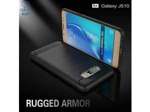 KRY Phone Cases for Samsung J5 2016 Case Carbon Fiber Rubber Cover for Samsung Galaxy J5