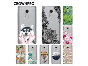 CROWNPRO CN Version Soft Silicone Xiaomi Redmi Note 4 Case Cover Phone Case ...