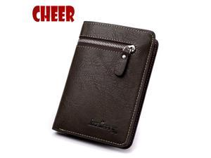 05e30affd997f Fashion wallet men short Coin pocket with purse Multifunction Casual Clutch  bag ...