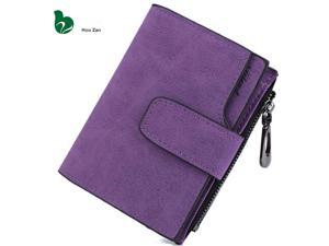 a8d9951aa605d9 Short Leather Women Wallet Designer Famous Luxury Brand Perse Female Coin  Purse Clutch Money Bag Walet