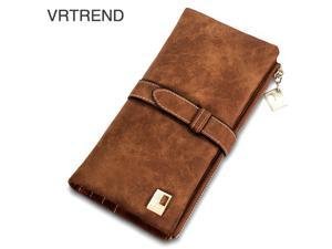VRTREND Long Women Wallets Female Fashion PU Leather Bag ID Card Holders For ...