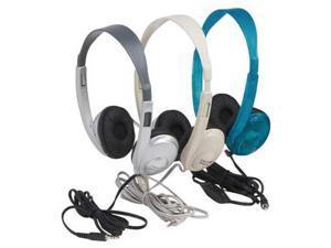Califone International 3060AV Lightweight Multimedia Stereo Headphones - Beige