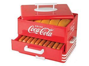 Nostalgia HDS248COKE Coca-Cola Hot Dog Steamer