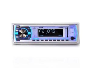 Pyle PLMRB29W Single DIN Bluetooth In-Dash Stereo Radio Headunit Receiver