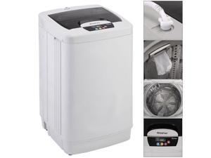 Online Gym Shop CB16965 Portable Small Washing Machine Washer Fully Automatic 1.87 Cu.ft & 12 lbs Spin