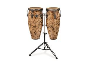 Latin Percussion LPA646-HC Aspire 10 & 11 Conga Set H Caf Double Std