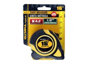 Olympia Tools 43-232 Fit 1 in. Tape Measure, 0.06 x 6 ft.
