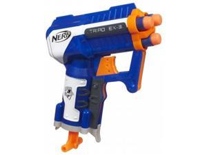 Hasbro Inc A1690 Hasbro Inc A1690 Nerf N Strike Elite Triad EX-3 Blaster