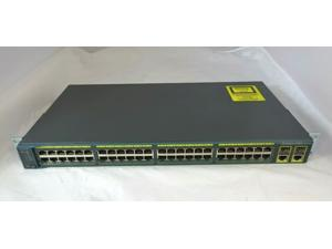 Cisco Catalyst WS-C2960-48TC-L 48 Port Managed Fast Ethernet Switch