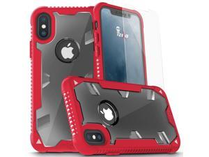 Zizo PROTON 2.0 Series compatible with iPhone X Case Military Grade Drop Tested with Tempered Glass