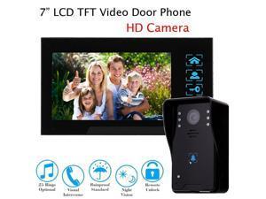 Boblov 7  LCD Wired Color Video Door Phone Doorbell Intercom Monitor Visual Security IR HD  sc 1 st  Newegg.com & wireless door monitor - Newegg.com