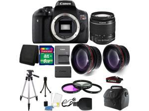 694265f2cd57 Canon EOS Rebel T6 DSLR Camera + 18-55mm + 58mm Filter Kit + Wide