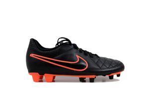 36bf3ab265b4 Nike Tiempo Rio II FG Black Black-Action Red-Bright Mango Women s 630860
