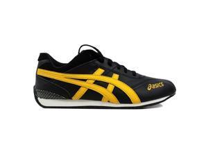 e0a6dc36258 Asics Shihan GS Black/Yellow-White Grade-School C9N1Y 9004 Size ...
