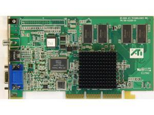 ATI 109-63200-01 RAGE 128 PRO 32MB AGP VIDEO CARD