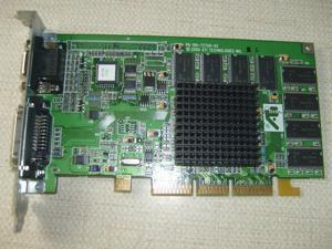 Matrox MGA MIL//41 Graphics Dual Output PCI Video Card 590-05 REV B