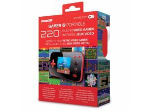 My Arcade Gamer V Handheld Gaming System with 220 Games - Red/Black