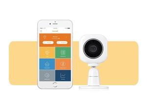 Home8 ActionView Video-Verified Interactive Mini Talking IP Camera, No Hub Required, Wi-Fi, featuring Amazon Alexa Integration & other Ecosystem Partners