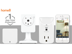 Home8 PowerShield, Smart Plug Video-Verified Control System, Control your Devices from Anywhere, Works with Amazon Echo Alexa
