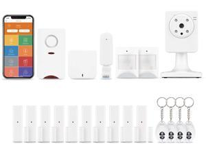 Home8Pro UltraShield Security System 19-Piece Valued Bundle. Includes 2 Motion Sensors and 10 Door Sensors. Easy DIY,Wireless System (Great for Intrusion Protection). 24/7 Priority Dispatch Available!