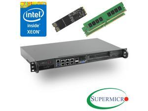 Supermicro SuperServer 5018D-FN8T Xeon D 1U Rackmount,10GbE,SFP+,32GB & 256GB M.2 SSD