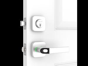 Ultraloq Combo Bluetooth Enabled Fingerprint & Key Fob Two-Point Smart Lock with WiFi Bridge