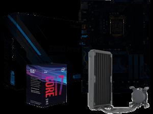 Intel Core i7 8086K 4.00GHz / 5.00GHz Turbo 8 Core Box CPU | ASRock Z390 Pro 4 ATX Motherboard | Asetek 570LXA 240mm CPU Liquid Cooler